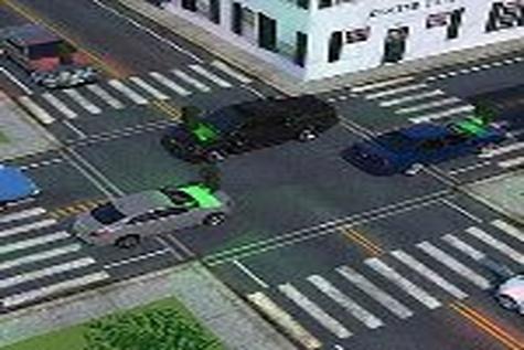 شیشه جلو خودروها، چراغ راهنمایی و رانندگی میشود