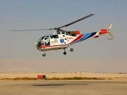 پرواز اورژانس هوائی آباده برای نجات جان بیمار