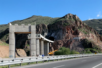 گزارش تصویری/ چند نما از پیشرفت خطآهن زیبای قزوین - رشت و پلهای شاهرود و منجیل