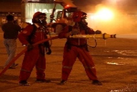 بر اثر آتش گرفتن یک اتوبوس در چین سی و دو نفر مصدوم شدند