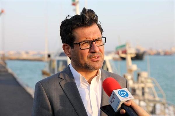 تکمیل اسکله کانتینری جزیره نگین بوشهر