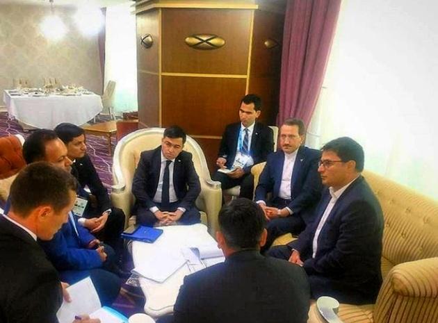 راههای توسعه همکاریهای ریلی با ترکمنستان، قزاقستان و جمهوری آذربایجان بررسی شد