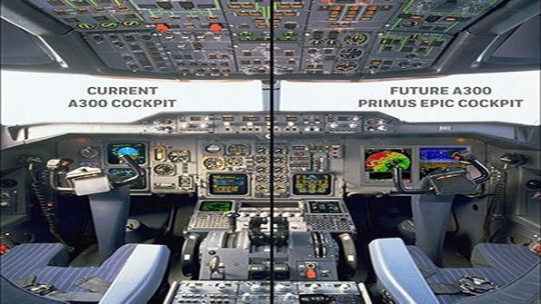UPS to upgrade Airbus A300 cockpits