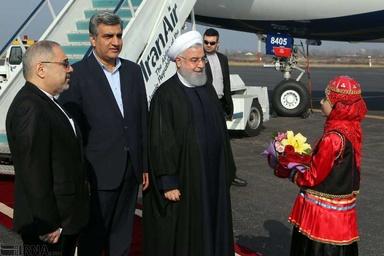 افتتاح راه آهن قزوین - رشت مهمترین پروژه سفر به گیلان