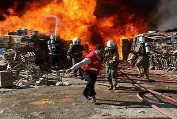 جزییاتی از حادثه آتش سوزی شهرک صنعتی لیا قزوین