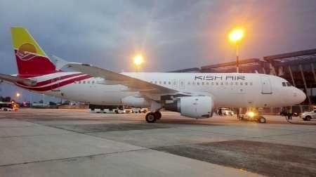 پروازهای کیش ایر در فرودگاه سنندج برقرار میشود