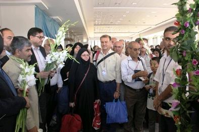 پایان عملیات اعزام 4211 زائر خانه خدا از فرودگاه شیراز