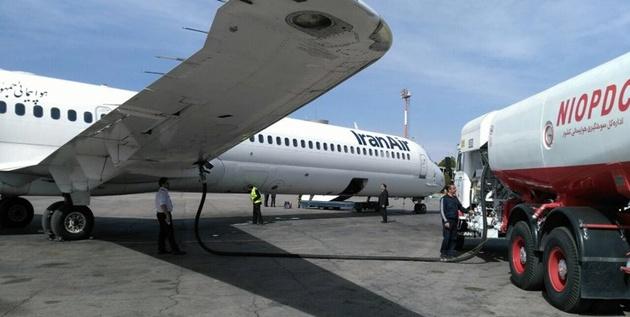 باک خالی هواپیماهای ایرانی در فرودگاههای خارجی