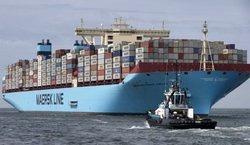 افزایش هزینه حمل بار در خلیج فارس  در  شرکت کشتیرانی «مرسک»