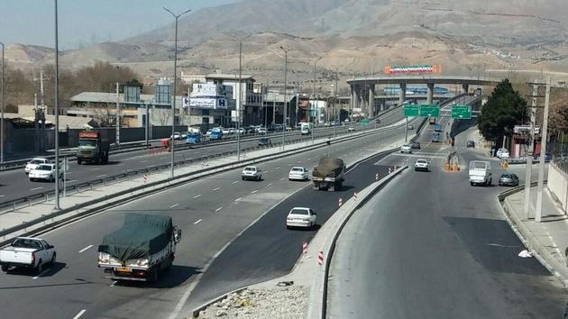 روانسازی ترافیک بزرگراه فتح-پل کاروانسرای سنگی