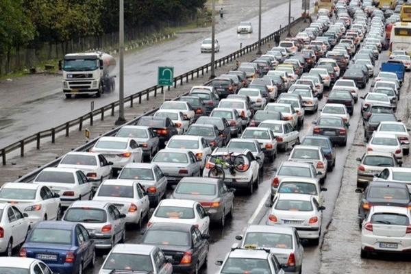 توصیههای ترافیکی در هوای بارانی