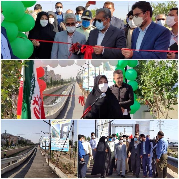 چندین طرح عمرانی و راه روستایی در دهیاری های شهر قزوین افتتاح شد