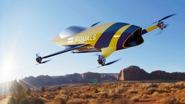 Airspeeder series to debut 120-mph, head-to-head, manned multicopter racing in 2020