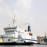آغاز فعالیت کشتی سانی در مسیر دریایی بین بنادر شهید باهنر و شارجه