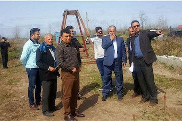 بازدید مدیرکل راه و شهرسازی گیلان از پروژههای پل روستاهای آستانهاشرفیه