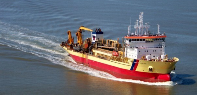 Europe's first LNG dredger to be created