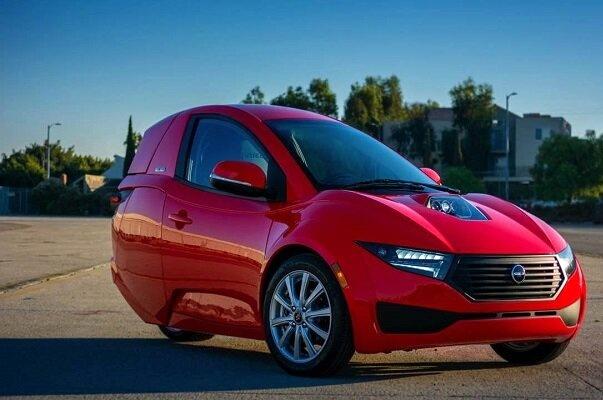 خودروی برقی سه چرخ برای محیطهای شلوغ شهری