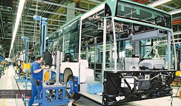 سرمایهگذاری ایرانخودرو دیزل برای تولید اتوبوس