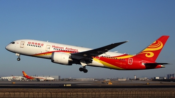 Hainan Airlines to open three international routes