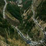 تردد سخت از جاده ای با زیرساخت های 50 سال پیش