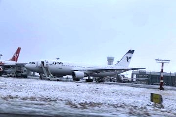 تغییر مسیر چهار پرواز استانبول از فرودگاه امام به فرودگاه اصفهان