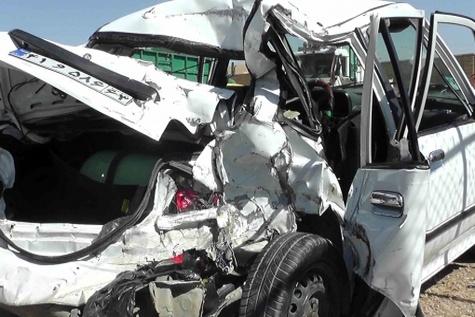 تصادف رانندگی در قصرشیرین چهار کشته بر جا گذاشت