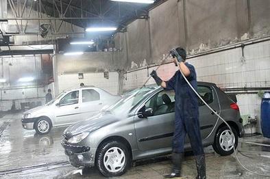 شستشو رایگان تاکسیهای کرمانشاه در ایام نوروز