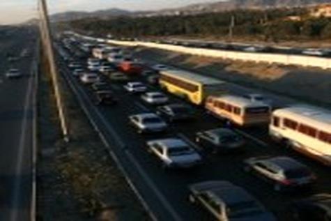 ترافیک نیمه سنگین در برخی محورهای خوزستان