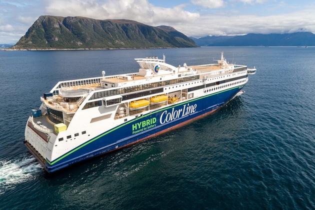 World's Largest Battery-Hybrid Ship Delivered