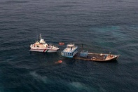 آمادهباش نیروهای امداد دریایی بوشهر