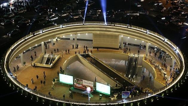 پلازای میدان هفتتیر فردا شب افتتاح خواهد شد