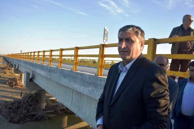 وزیر راه و شهرسازی شش طرح عمرانی را در پرند استان تهران افتتاح کرد