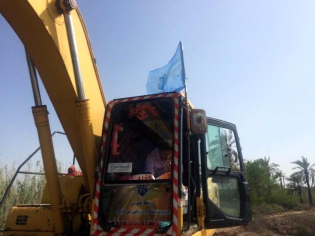 تلاش بنادر آبادان در عملیات احداث سیل بند ادامه دارد