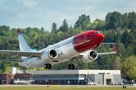 Norwegian Becomes First European MAX Operator