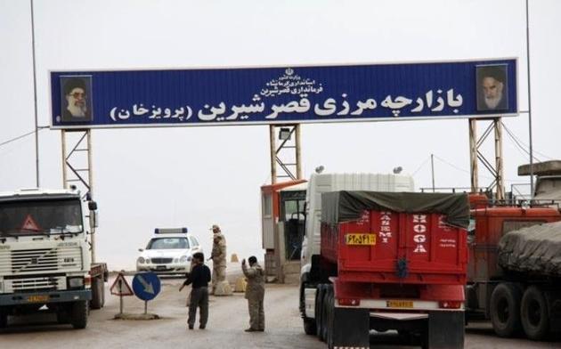ممنوعیت تردد کامیونهای ایرانی به اقلیم کردستان +  فیلم