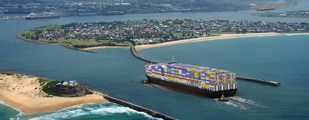 Port of Newcastle receives bids for new terminal