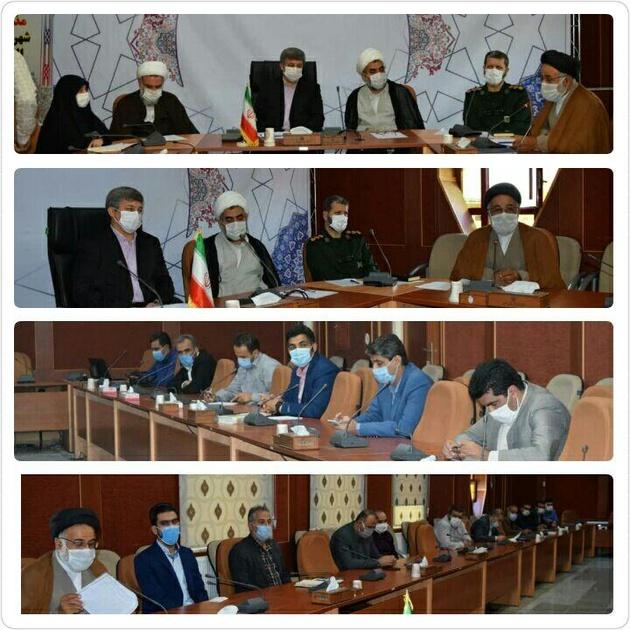 بررسی و تبیین دستورالعمل برگزاری مراسمات محرم و صفر در شهرستان البرز