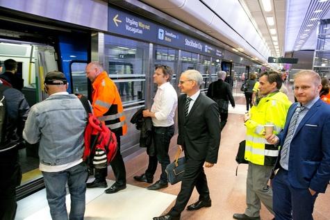 Prime Minister inaugurates Stockholm Citybanan