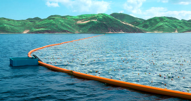 Using technology to reduce plastics in the oceans