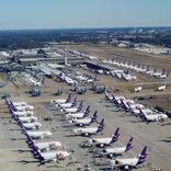 پهپاد پروازهای فرودگاه آمریکا را مختل کرد