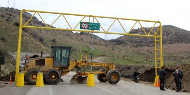 ترافیک نیمه سنگین در هراز و باران در 4 محور تهران-شمال/6 جاده مسدود است
