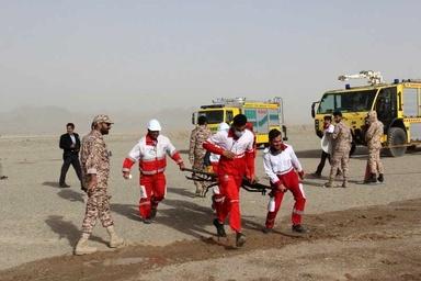 اجرای مانور طرح اضطراری کامل در فرودگاه زاهدان