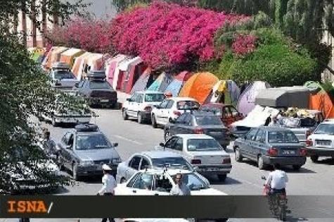 اقامت بیش از ۲۵ هزار مسافر نوروزی در استان سمنان