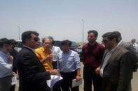 بازدید مدیران شرکت سرمایه گذاری ژاپنی از بندر شهید بهشتی چابهار