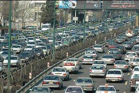 جدول وضعیت ترافیک لحظهای راههای اصلی و فرعی استان تهران-۳