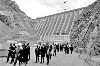 وقتی  نخستین سد ایران افتتاح شد