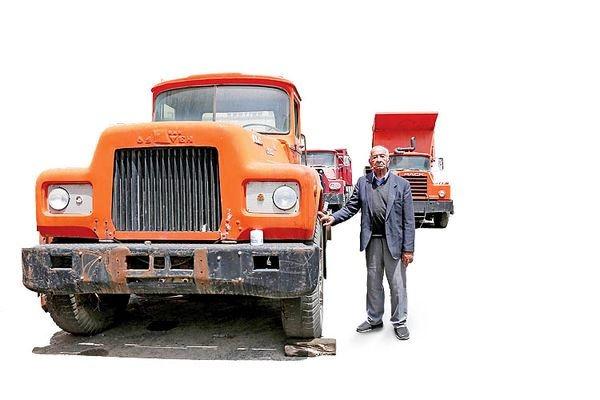 پدر «کامیون» در ایران