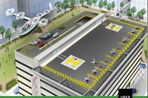 Embraer teams with Uber to explore development of flying cars