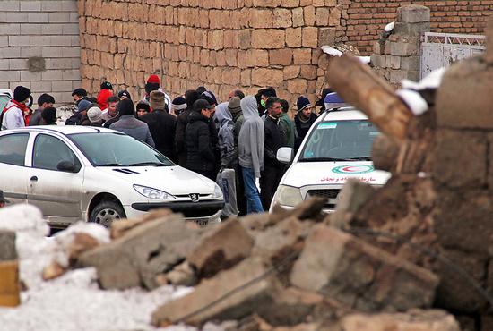 تصاویر| خسارتهای زلزله در قطور - آذربایجان غربی