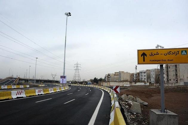 افتتاح فاز دوم پروژه بزرگراه شهید نجفی رستگار
